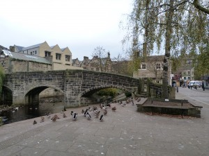 The oldest bridge in the town, dating back to the 16th century