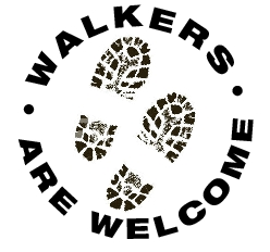 Walkers are welcome 2nd symbol