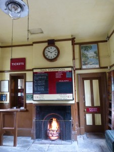 Ticket office at Oxenhope