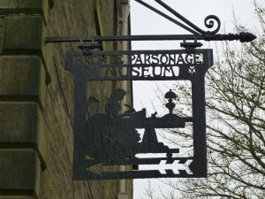 Now the Bronte Parsonage Museum